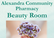 Alexandra Community Pharmacy Beauty Room
